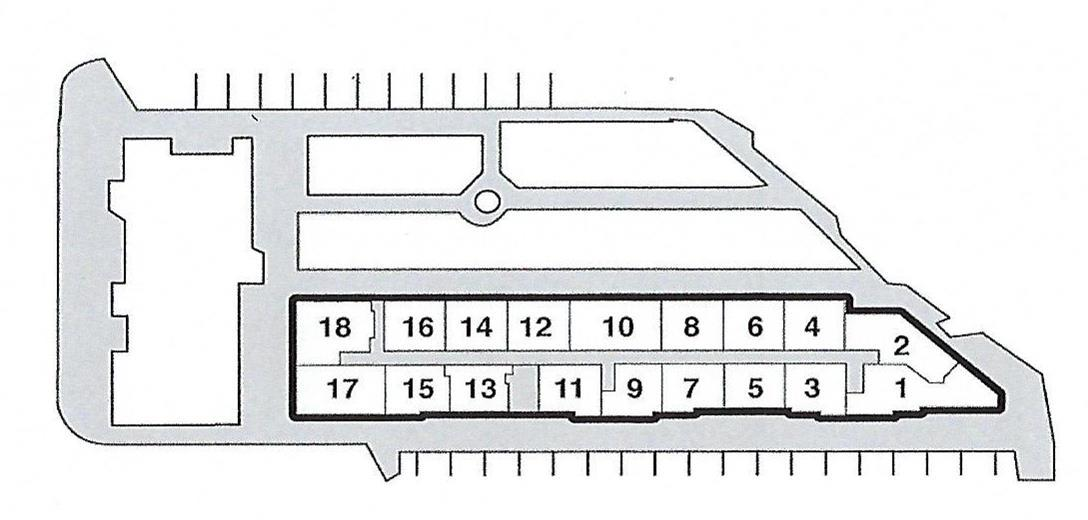 Plaza Del Lago layout